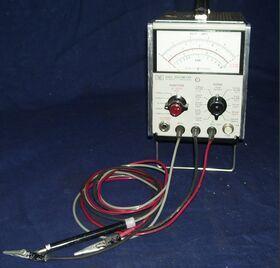 HP 410C Voltmeter HP 410C Strumenti