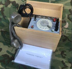 TCP 90 Apparecchio telefonico Portatile TCP 90 Apparati radio militari