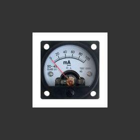 W.01530 MilliAmperometro analogico a pannello 0-100 mA Materiale elettrico