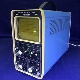 GRUNDING GO 20Z Oscilloscope GRUNDING GO 20Z -da revisionare Strumenti