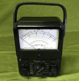 Simpson mod. 260 Multimetro Analogico Simpson mod. 260 Accessori per apparati radio Militari