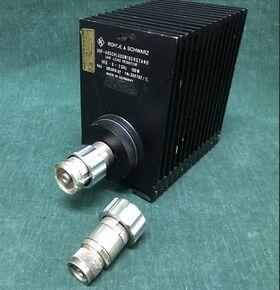 RAU-200.0019.02  9/21 - N UHF Load Resistor ROHDE & SCHWARZ RAU-200.0019.02 Strumenti