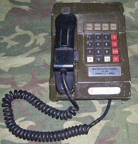 TA358 Telefono Digitale Campale TA-358 Apparati radio militari