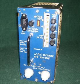 BDF200 ERICSSON BFD 200 008/1 AC/DC Rectifier Alimentatori