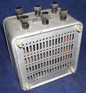 Resistor2x5 Resistenza Addizzionale  2 x 5-10 Kohm ATTENUATORI - CARICHI - BOX DECADE