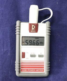 555B Power Meter RIFOCS 555B Strumenti