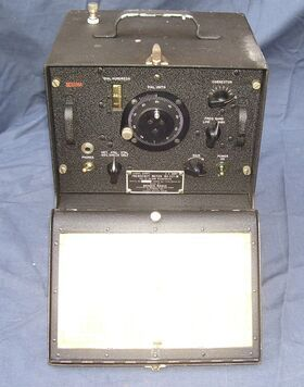 BC-221-N Frequency Meter U.S. Army BC-221-N -usato Apparati radio